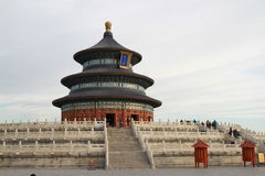 Tempel van Hemel in Peking Stock Foto's