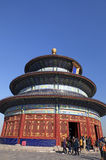 Tempel van Hemel in Peking Stock Fotografie