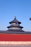 Tempel van Hemel, Peking Stock Foto