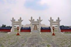 Tempel van Hemel, Peking, China Stock Afbeelding
