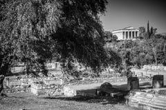 Tempel van Hephaestus stock foto