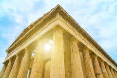 Tempel van Hephaestus royalty-vrije stock foto
