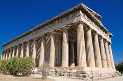 Tempel van Hephaestus Royalty-vrije Stock Fotografie