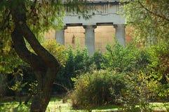 Tempel van Hephaestus in Athene Stock Fotografie