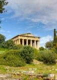 Tempel van Hephaestus, Athene, Griekenland Stock Foto's