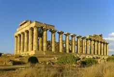 Tempel van Hera Royalty-vrije Stock Foto