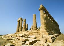 Tempel van Hera stock fotografie
