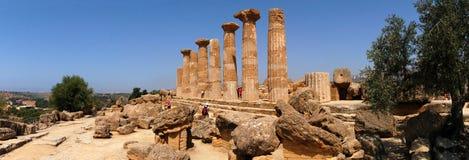 Tempel van Heracles stock foto