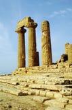 Tempel van Heracles, Agrigento Stock Afbeeldingen