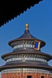 Tempel van het Close-up van de Hemel royalty-vrije stock afbeelding