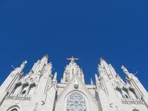 Tempel van het Heilige Hart in Barcelona Royalty-vrije Stock Foto's