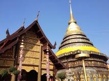 Tempel van het noorden van Thailand Royalty-vrije Stock Afbeelding