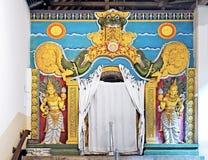 Tempel van het Tand (Sri Dalada Maligawa) fragment in Kandy, Sri Lanka royalty-vrije stock foto's
