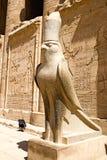 Tempel van Horus in Edfu Stock Afbeeldingen
