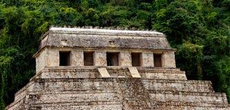 Tempel van Inschrijvingen Palenque Royalty-vrije Stock Afbeelding