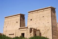 Tempel van ISIS Royalty-vrije Stock Afbeeldingen