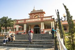 Tempel van ISKON royalty-vrije stock fotografie