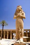 Tempel van Karnak stock foto