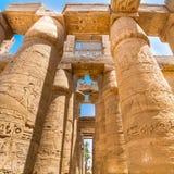Tempel van Karnak, Luxor, Egypte Royalty-vrije Stock Foto