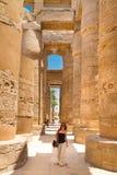 Tempel van Karnak, Luxor, Egypte Royalty-vrije Stock Fotografie