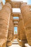 Tempel van Karnak, Luxor, Egypte Stock Foto