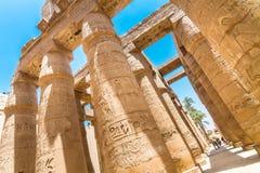 Tempel van Karnak, Luxor, Egypte Royalty-vrije Stock Afbeeldingen