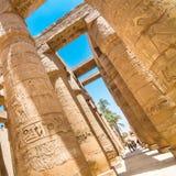Tempel van Karnak, Luxor, Egypte Royalty-vrije Stock Afbeelding