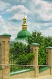Tempel van Kiev-Pechersk Lavra Stock Foto