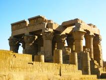 Tempel van Kom Ombo stock afbeeldingen