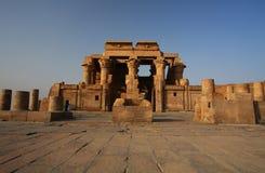 Tempel van Kom Ombo in Egypte Stock Foto's
