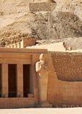 Tempel van Koningin Hatshepsut Stock Afbeelding