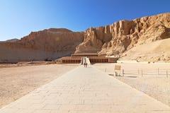 Tempel van Koningin Hatshepsut Stock Foto