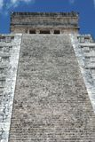Tempel van Kukulcan Gr Castillo in Chichen Itza, Mexico Stock Foto's