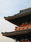Tempel van Kume Heinai (Asakusa, Tokyo/Japan) Stock Afbeelding