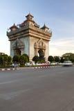 Tempel van lao royalty-vrije stock afbeeldingen