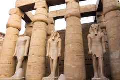 Tempel van Luxor stock foto's