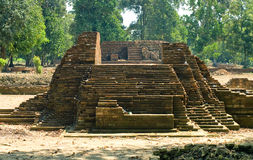 Tempel van Muara Jambi. royalty-vrije stock afbeeldingen