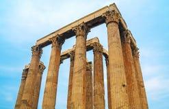 Tempel van Olympian Zeus royalty-vrije stock afbeeldingen