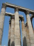 Tempel van Olympian Zeus Royalty-vrije Stock Foto's