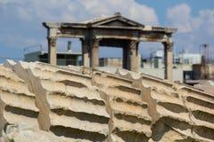 Tempel van Olympian Zeus Stock Afbeeldingen