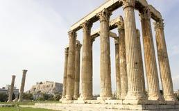 Tempel van Olympian Zeus Stock Fotografie