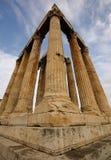 Tempel van Olympian Zeus, Athene, Griekenland Royalty-vrije Stock Afbeeldingen