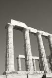 Tempel van Poseidon Royalty-vrije Stock Foto's