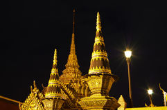 Tempel van Smaragdgroene Boedha Royalty-vrije Stock Foto