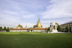 Tempel van smaragdgroene Boedha Stock Foto