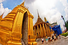 Tempel van Smaragdgroene Boedha, Bangkok Stock Afbeeldingen