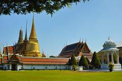 Tempel van Smaragdgroene Boedha (Wat Phra Kaew) Royalty-vrije Stock Afbeelding