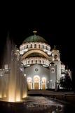 Tempel van St Sava Stock Foto