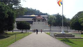Tempel van Tand Kandy Sri Lanka stock afbeeldingen