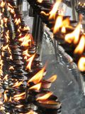 Tempel van Tand in Kandy/Sri Lanka Stock Fotografie
